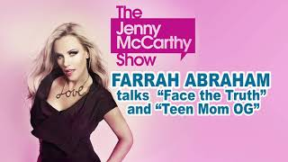 "Farrah Abraham on walking off ""Face the Truth"" and leaving ""Teen Mom"""