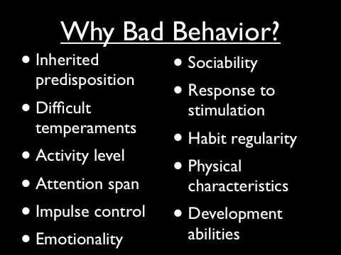 Behavior Management for Children - Part 1