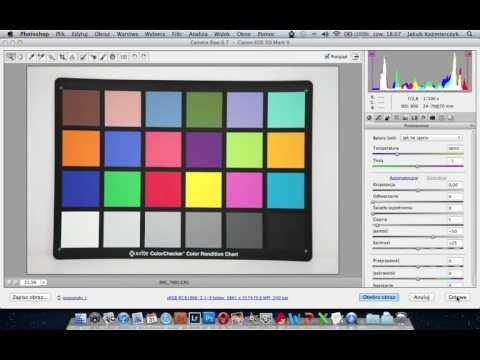 Profilowanie aparatu przy użyciu X-Rite Color Checker - poradnik wideo