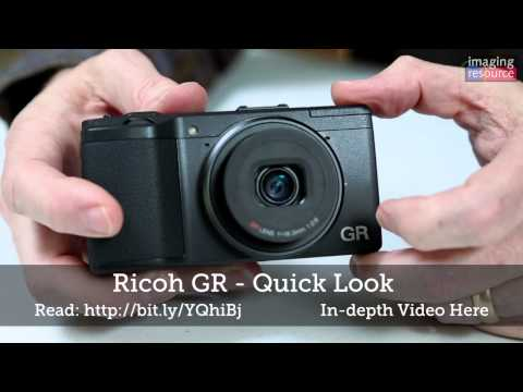 Ricoh GR Review: Quick Look