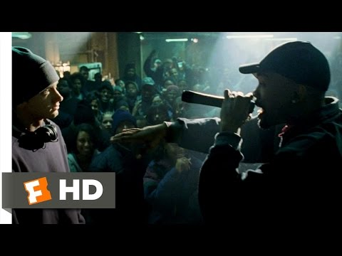 8 Mile (1/10) Movie CLIP – Rabbit Battles Lil' Tic (2002) HD