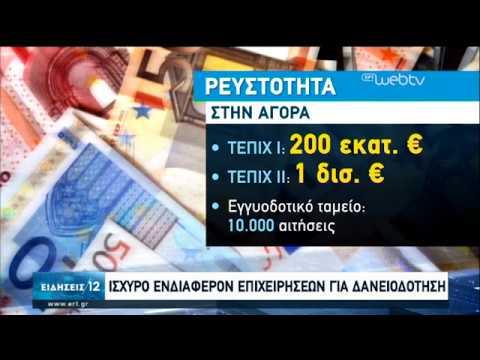 Ισχυρό τo ενδιαφέρον επιχειρήσεων για δανειοδότηση-Αυστηρά τα κριτήρια   7/6/20   ΕΡΤ