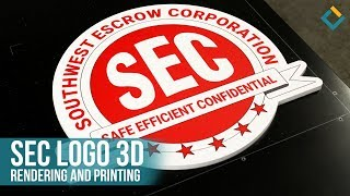 Southwest Escrow Corporation – SEC logo 3D Rendering and Printing
