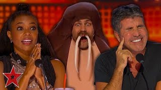 Video MOST OUTRAGEOUS Auditions On America's Got Talent 2019! | PART 1 | Got Talent Global MP3, 3GP, MP4, WEBM, AVI, FLV Agustus 2019