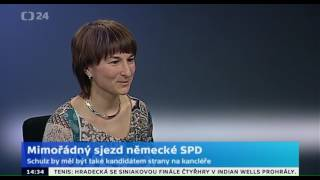 Mimořádný sjezd německé SPD