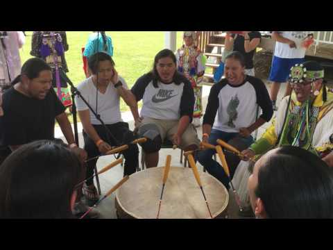 Blackstone Singers Flag Song 2016 Prairie Band Potawatomi Powwow