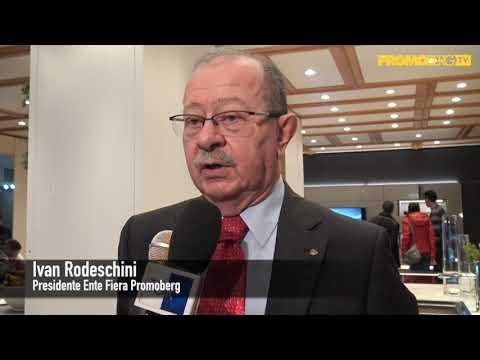PROMOBERG FIERA BERGAMO - SALONE DEL MOBILE 2018 INTERVISTA PRESIDENTE RODESCHINI