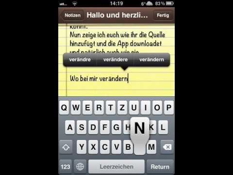Mit dem iPhone 3GS 4/S kosteos Musik downloaden