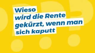 Video: #Rentefüralle: Was fordern wir bei der Erwerbsminderungsrente?