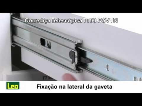 Telescópica com amortecedor, TT50, FGVTN