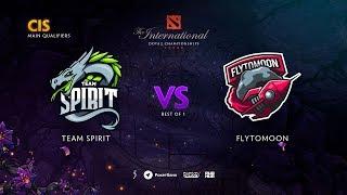 Team Spirit vs FlyToMoon, TI9 Qualifiers CIS, bo1 [Maelstorm & Smile]