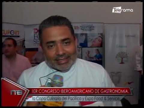 1er Congreso Iberoamericano de Gastronomía la Copa Culinaria del Pacífico y Expo Food & Service