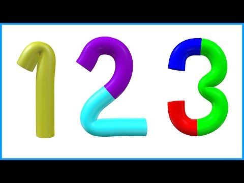 Number Song | 123 Numbers | Number Names | 1 To 10 | Counting for Kids | Learn to Count Video