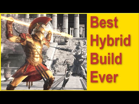 Assassins Creed Odyssey - Best Hybrid Build 2021 - 100% Crit - Use any Weapon with Poison or Fire!