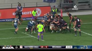 Kings v Brumbies Rd.13 Super Rugby Video Highlights 2017