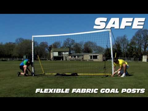 12 x 6 Football / Soccer Goal in 2 Minutes