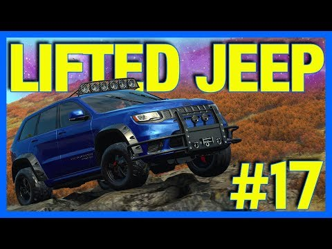 Forza Horizon 4 Let's Play : Lifted Jeep Trackhawk!! (Part 17)