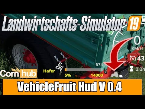 VehicleFruit Hud v0.45 Beta