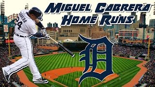 Miguel Cabrera 2016 Home Runs