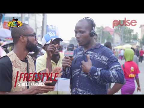Man Sings Own Song with 'Take Glory Father' Tune on Street Karaoke