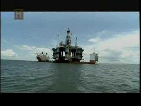 Plataforma Petrolera en Golfo de MExico