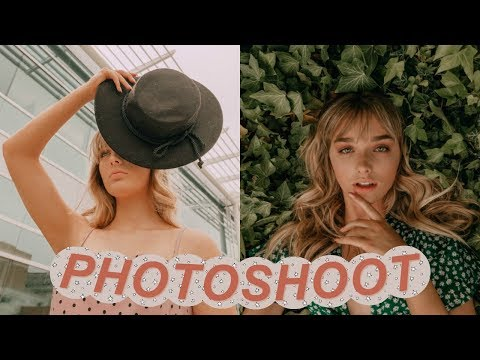 BEHIND THE SCENES: Instagram Photoshoot Vlog!