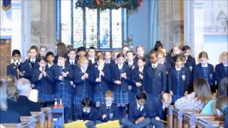Carol Service 2016 - Year 4 sing 'Christmas Blessing'.