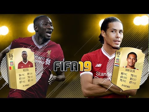 FIFA 19 LIVERPOOL TEAM - POTENTIAL LINEUP