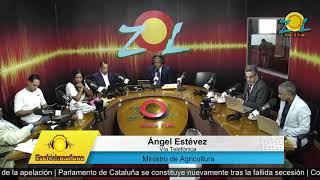 Ángel Estévez, Ministro Agricultura dice tiene un año trabajando en erradicación de caracol afri