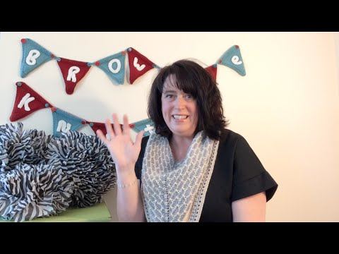 Brownie Knits Episode 3: NET day and LOTS of Afghans