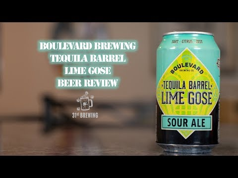 Boulevard Brewing Tequila Barrel Lime Gose Beer Review