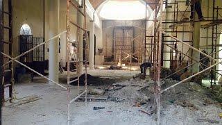 Tras incendio, avanza reconstrucción de Iglesia en Pueblo Yaqui