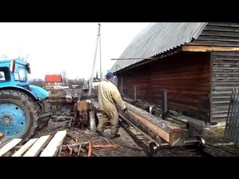 Пилорама от трактора