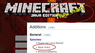 Creeper Aw Man Officially Added To Minecraft