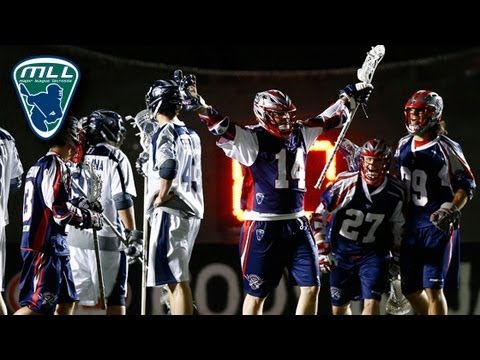 MLL Week 4 Highlights: Chesapeake Bayhawks at Boston Cannons_Best videos: Lacrosse