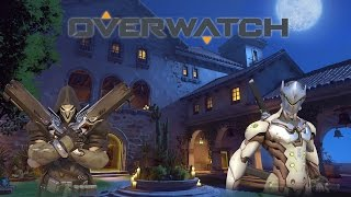 [OPEN BETA] Quick match as Reaper and Genji on the Defense Team (Dorado).This game is so good...