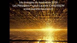 Les énergies du mois de novembre Les Pléiadiens