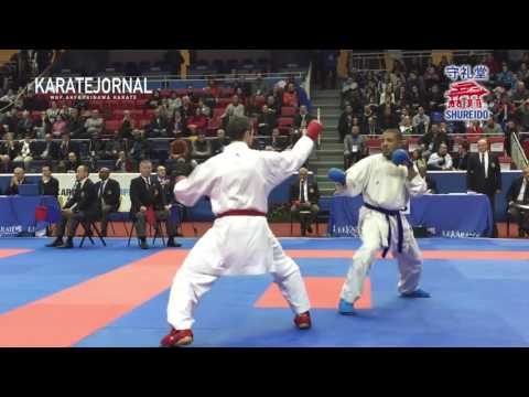 BEST Of Karate FIGHt Amazing Throwing Techniques WKF NEW RULE By BEST OF RAFAEL AGHAYEV -2017