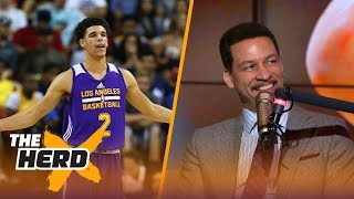 "Chris Broussard and Jason Whitlock discuss Lonzo Ball and the Big Baller Brand, if it's a good thing Lonzo might be separating himself a bit from his father LaVar and more.SUBSCRIBE to get all the latest content from The Herd: http://foxs.pt/SubscribeTHEHERD  ►Watch the latest content from The Herd: http://foxs.pt/LatestOnTheHerd ►Watch the latest content from Kristine Leahy: http://foxs.pt/LeahyOnHerd ►Watch our favorite content on ""Best of The Herd"": http://foxs.pt/BestOnTheHerd ►UNDISPUTED's YouTube channel: http://foxs.pt/SubscribeUNDISPUTED ►Speak for Yourself's YouTube channel: http://foxs.pt/SubscribeSPEAKFORYOURSELF See more from THE HERD: http://foxs.pt/THEHERDFoxSports Like THE HERD on Facebook: http://foxs.pt/THEHERDFacebook Follow THE HERD on Twitter: http://foxs.pt/THEHERDTwitter Follow THE HERD on Instagram: http://foxs.pt/THEHERDInstagram Follow Colin Cowherd on Twitter: http://foxs.pt/ColinCowherdTwitter Follow Kristine Leahy on Twitter: http://foxs.pt/KristineLeahyTwitter  About The Herd with Colin Cowherd:The Herd with Colin Cowherd is a three-hour sports television and radio show on FS1 and iHeartRadio. Every day, Colin will give you his authentic, unfiltered opinion on the day's biggest sports topics, and co-host Kristine Leahy will bring you the latest breaking sports news.Chris Broussard on Lonzo and Lavar Ball - would leaving BBB be good for Lonzo's career?  THE HERDhttps://youtu.be/DHjhJ4efRREThe Herd with Colin Cowherdhttps://www.youtube.com/c/colincowherd"