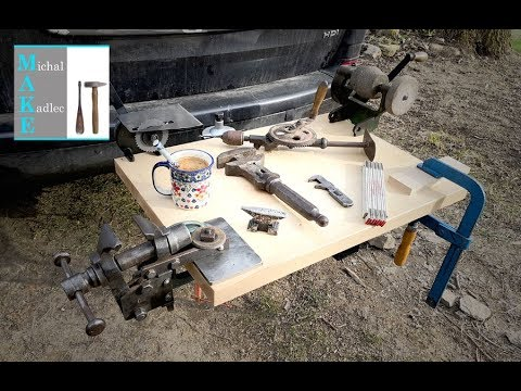 Tow ball mounted WORKBENCH build (видео)