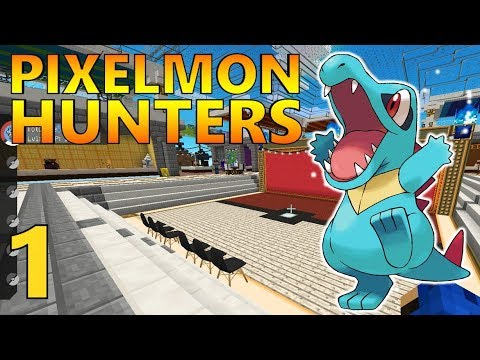 [1] Pixelmon Hunters! Let's Go To The Mall! (Pixelmon Reforged Gameplay S2)