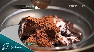 Masak On Sarah with Chef Sandra – Chocolate Mousse with Frozen Strawberry