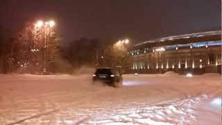DRIFT Moscow 2013. Hyundai Porter )) VW Jetta And Land Rover Freelander 2