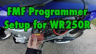 9. FMF Programmer WR250R Setup