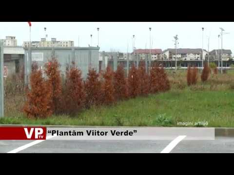 """Plantăm Viitor Verde"""
