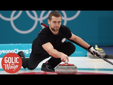 Russian curler charged with doping | Golic and Wingo | ESPN
