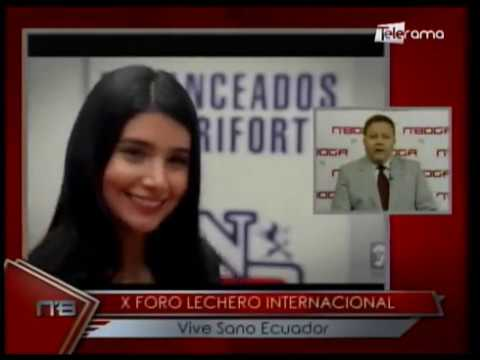 X Foro Lechero Internacional Vive Sano Ecuador