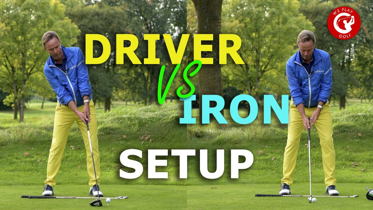 Driver setup vs Iron setup - What's the difference?