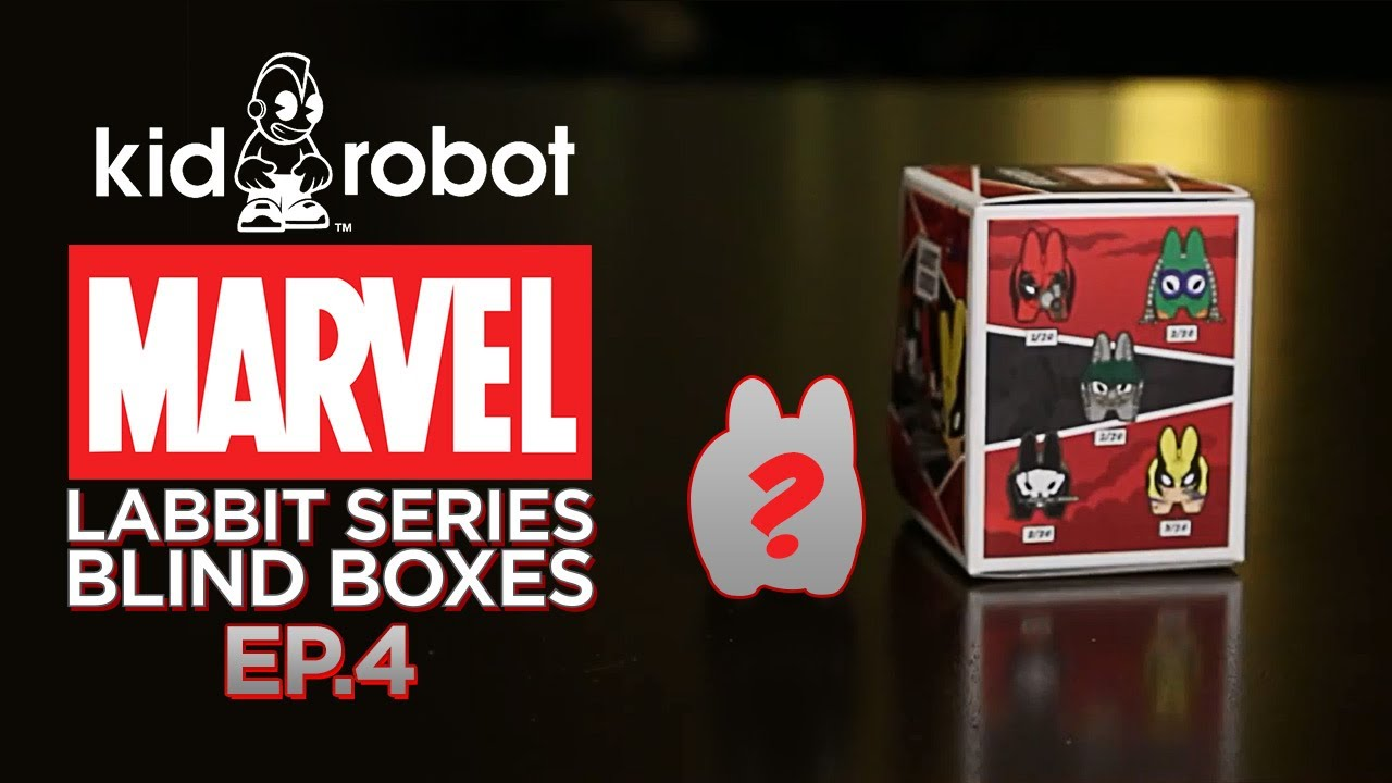 Marvel Labbit Series 1 Blind Boxes – Ep. 4