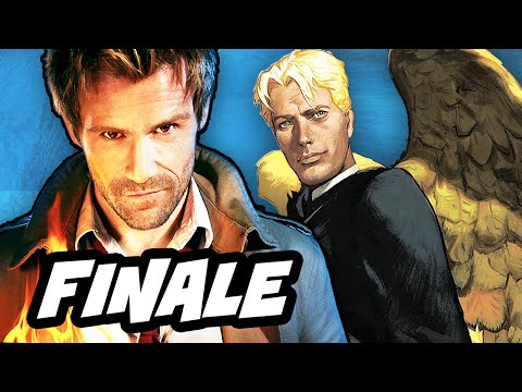 Constantine Episode 13 Finale Review and Justice League Dark Easter Eggs